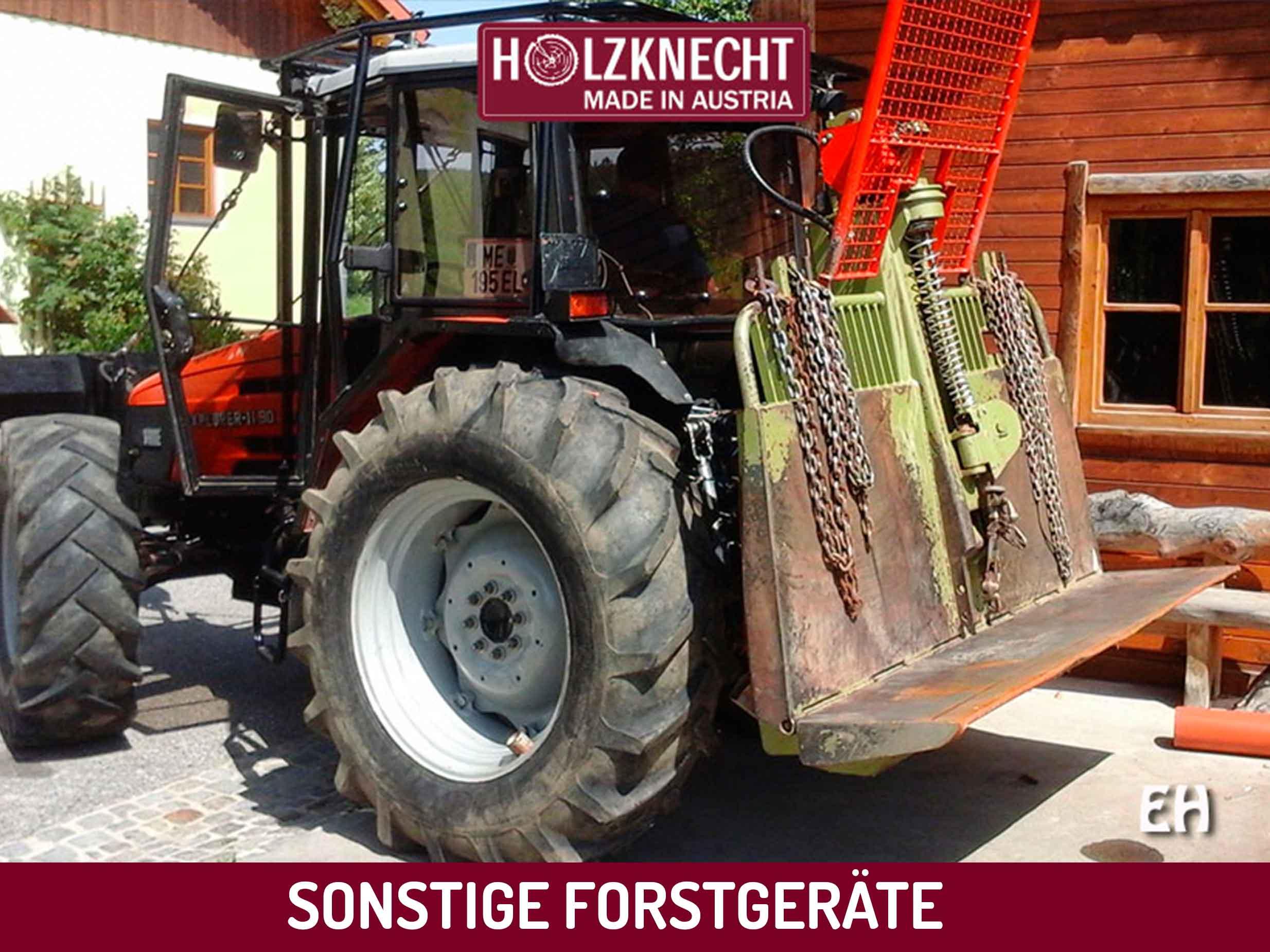gebrauchte forstseilwinde holzanh nger holzknecht forstseilwinden made in austria. Black Bedroom Furniture Sets. Home Design Ideas